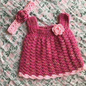 Other - Hand Made Newborn Baby Girl Outfit